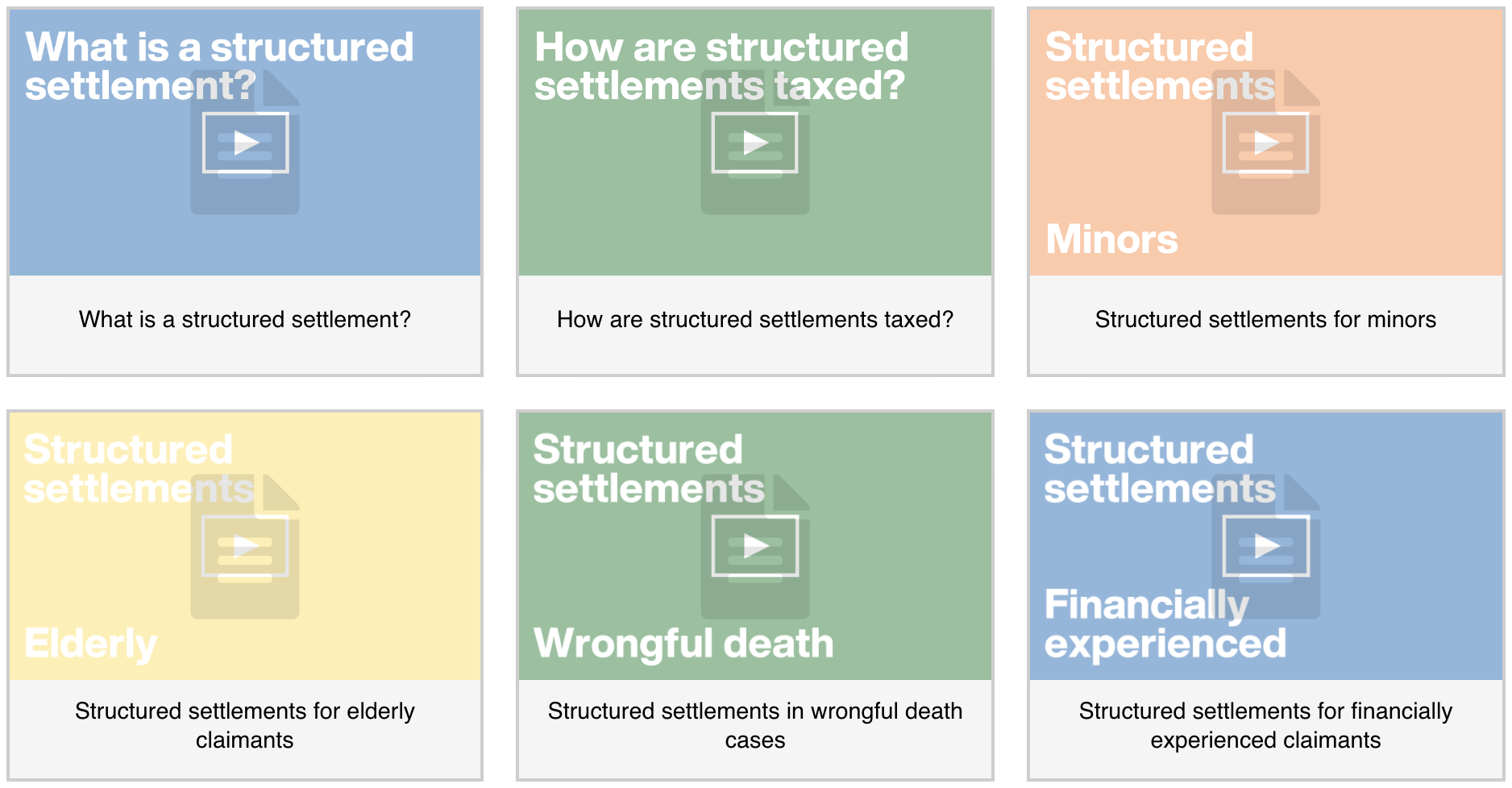 Course Preview - Structured Settlements Made Simple